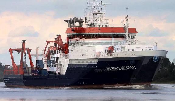 Alman araştırma gemisi geliyor