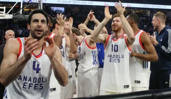 Anadolu Efes, 11. kez kupanın sahibi