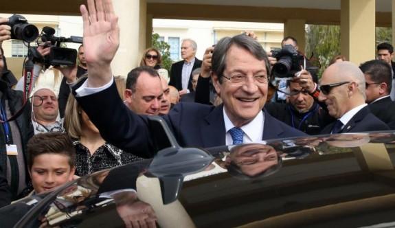 Anastasiadis 5 yıl daha Güney Kıbrıs'ın lideri