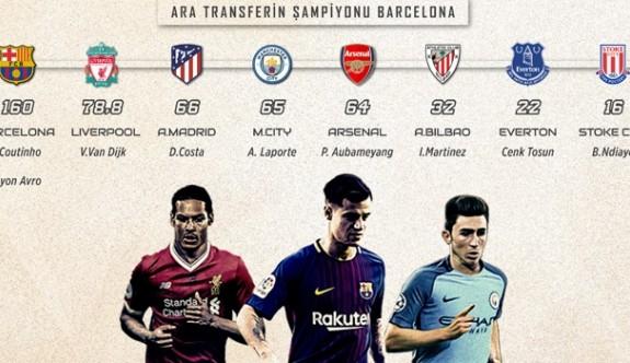 Ara transfere İngiltere ve İspanya damgası