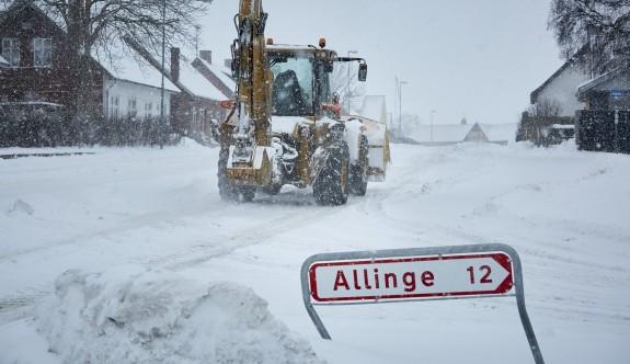 Avrupa kar ve aşırı soğuklara teslim