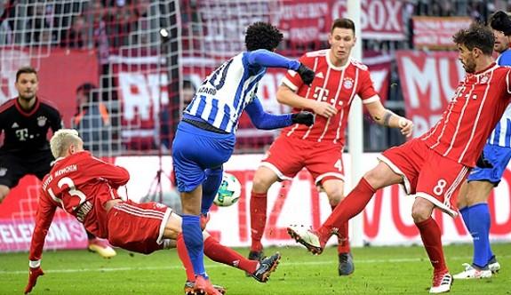 Bayern Münih'in serisi sona erdi