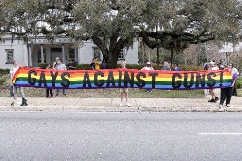 """Beyaz Saray önünde öğrencilerden """"bireysel silahlanma karşıtı"""" protesto"""