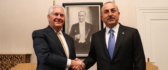 """Çavuşoğlu ile Tillerson görüşmesine """"Menbiç"""" damgası"""