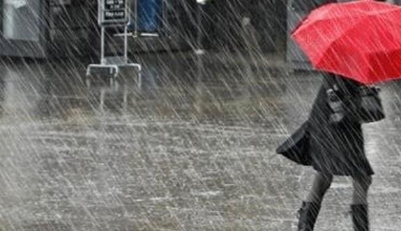 Cuma ve Cumartesi sağanak yağmura dikkat