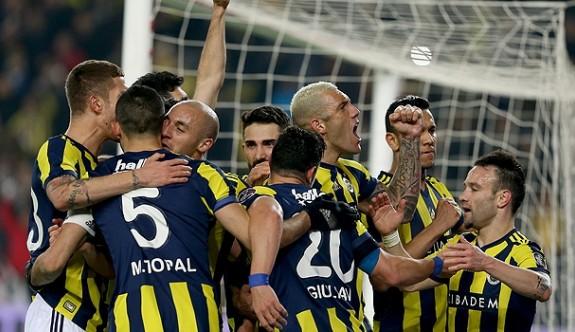 Fenerbahçe, Kadıköy'de 'samba' yaptı
