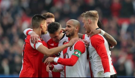 Feyenoord, Van Persie'nin golü ile kazandı