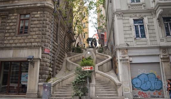Galatanın ruhu: Kamondo Merdivenleri