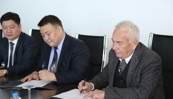 GAÜ ve Moğolistan  Üniversitesi arasında işbirliği