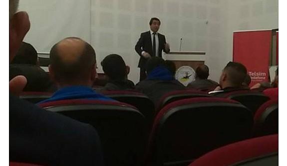 """""""Gelişim Ligleri'nde Futbol"""" semineri gerçekleştirildi"""