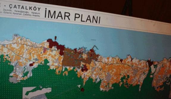 Girne-Çatalköy İmar Planı'nın Resmi Gazete'de yayımlandı