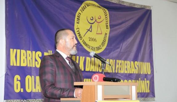 Halk Dansları Federasyonu'nda başkan yeniden Kadirağa