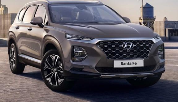 Hyundai'nin yeni SUV modeli Santa Fe