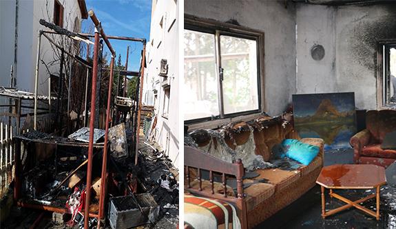 İki yangında büyük zarar
