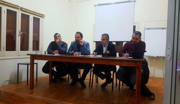 """""""Kıbrıslı Türklerin Siyasal Yaşamı, Seçim Sistemi ve Seçim Analizleri"""" tartışıldı"""