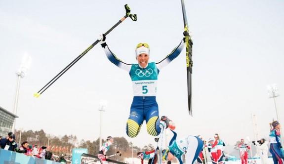 Kış Olimpiyatları'nda  ilk altın madalya İsveç'e gitti