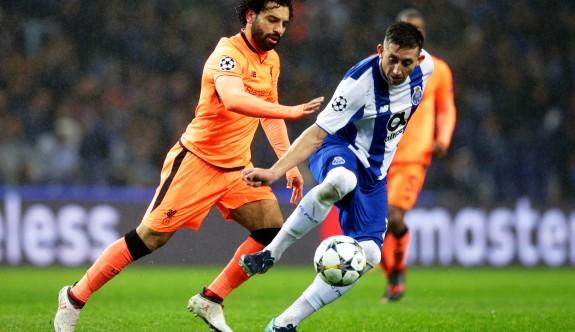 Liverpool, Porto'yu evinde bitirdi