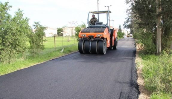 Mağusa'ya 10 bin tonluk asfalt