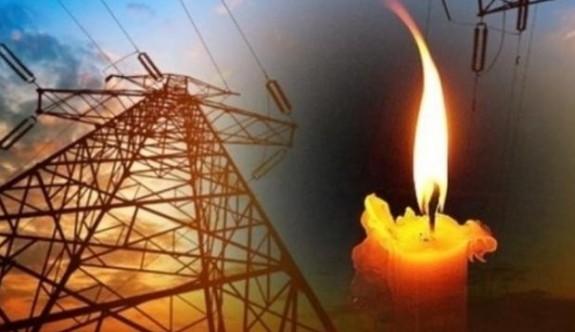 Mesarya'da 11 yerde elektrik kesintisi olacak