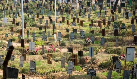 Ölülere yer kalmayan kent