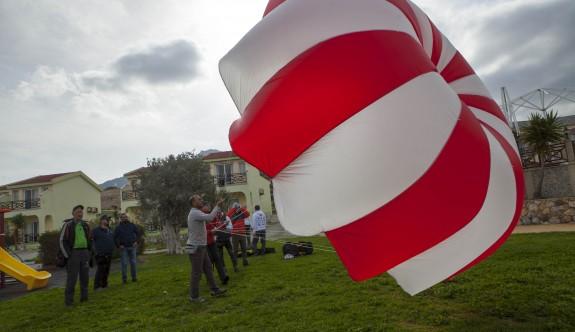 'Paragliding  Accuracy World Cup'a  rüzgar engeli