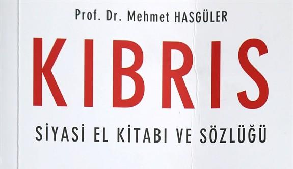 Prof. Hasgüler'in  kitabı çıktı
