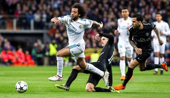 Real Madrid, PSG'yi son dakikalarda vurdu
