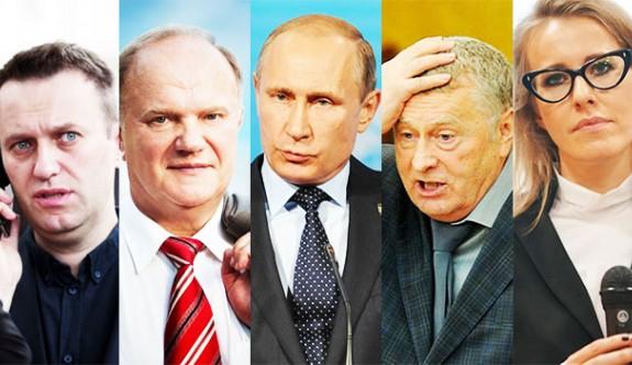 Rusya'da başkanlık için 8 aday yarışacak