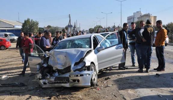 Son haftada 63 kaza, 26 yaralı