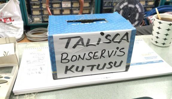 Talisca için bonservis kutusu yaptı
