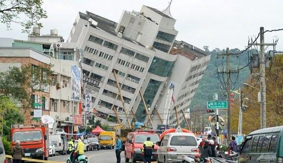 Tayvan'da 6,4 büyüklüğünde deprem: 4 ölü, 255 yaralı
