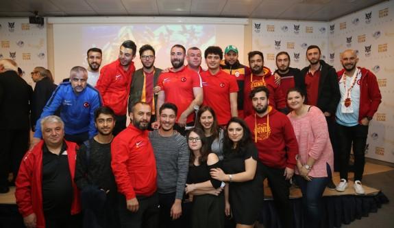 Türkiye Ampute Futbol Milli Takımı GAÜ öğrencileriyle buluştu