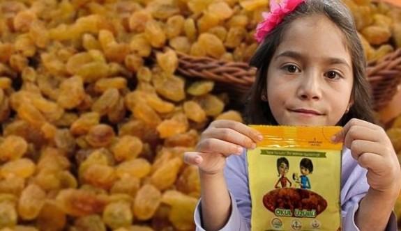 Türkiye'de ilkokullarda öğrencilere kuru üzüm dağıtılacak