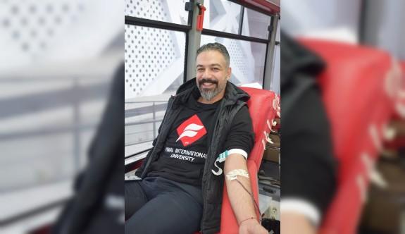 Uluslararası Final Üniversitesi'nde 35 ünite kan bağışı yapıldı