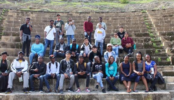 Yabancı öğrenciler Lefke'ye hayran kaldı