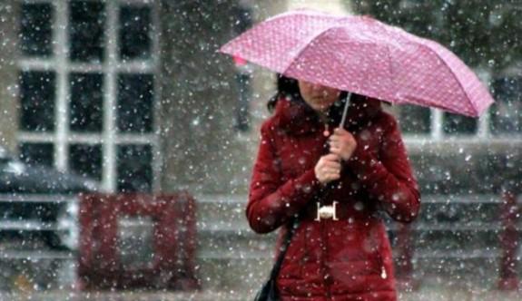 Yarın hava yağmurlu ve soğuk