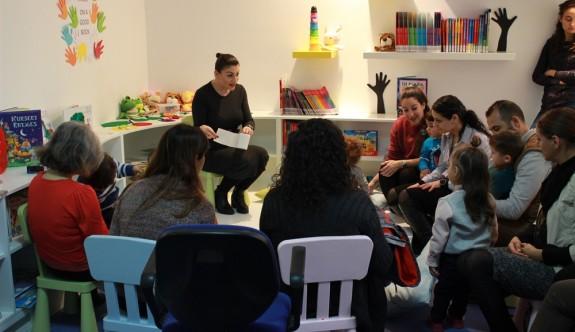 """YDÜ, Büyük Kütüphane içinde """"Çocuk Kütüphanesi"""" açıldı"""