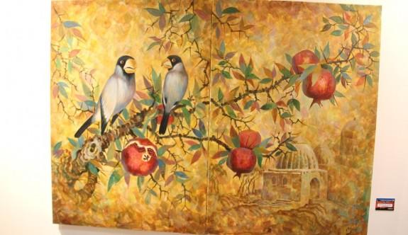 13 ülkeden sanatçının resimleri Gazimağusa'da sergileniyor