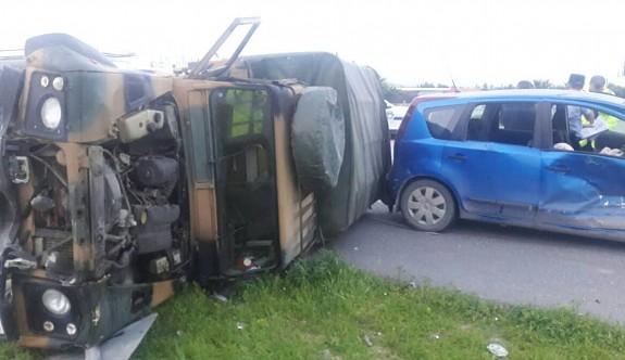 Alayköy yolundaki kazada yaralı sayısı arttı