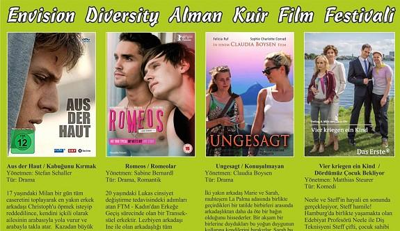 Alman Kuir Film Festivali Cuma günü başlıyor