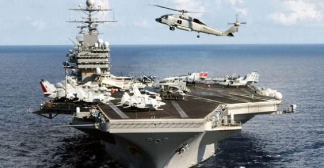 Amerikan filosu Kıbrıs açıklarında