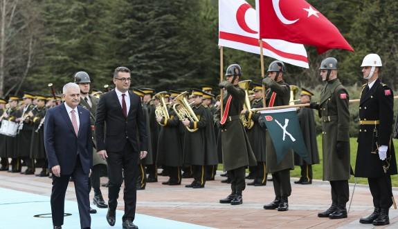 Başbakan Erhürman, Çankaya köşkünde