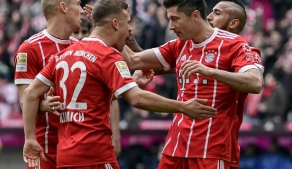 Bayern Münih, farklı kazandı