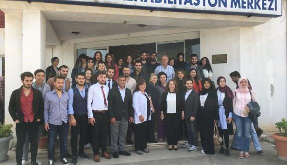 Bülent Ecevit Rehabilitasyon Merkezi'ne anlamlı ziyaret