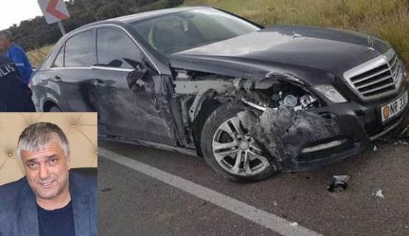 Cemal Erdoğan kaza geçirdi