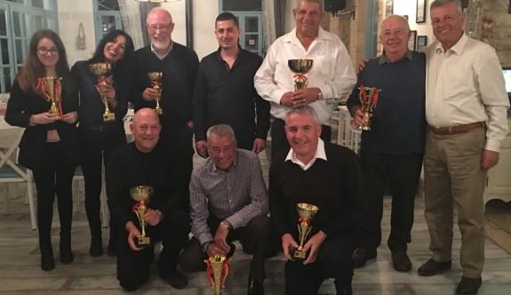 CMC Golf Kulübü'nde ödüller dağıtıldı