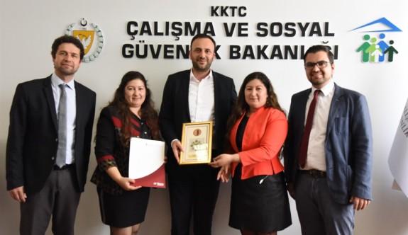 """""""Engelsiz Toplumda Ulusal Veri Tabanı Projesi'' için YDÜ ile işbirliği"""