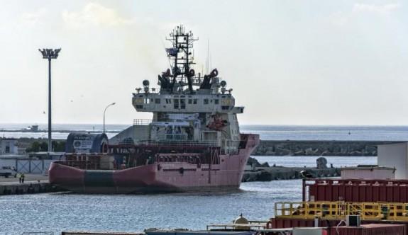 ExxonMobil'in araştırma gemisi Limasol Limanı'nda