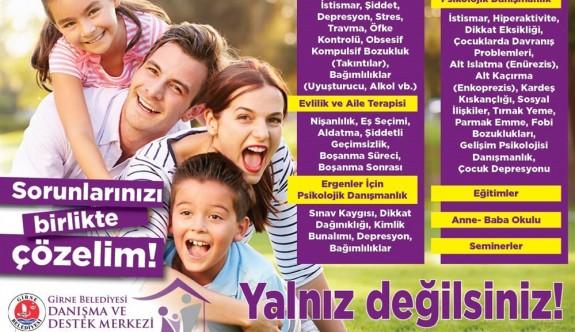 Girne Belediyesi Danışma ve Destek Merkezi cuma günü hizmete giriyor