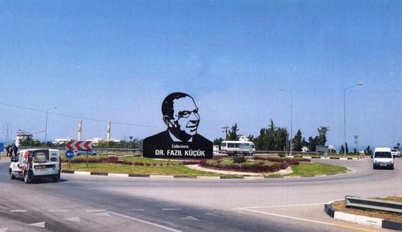 Girne Çevre Yolu Çemberi'ne Dr. Fazıl Küçük Anıtı açılıyor